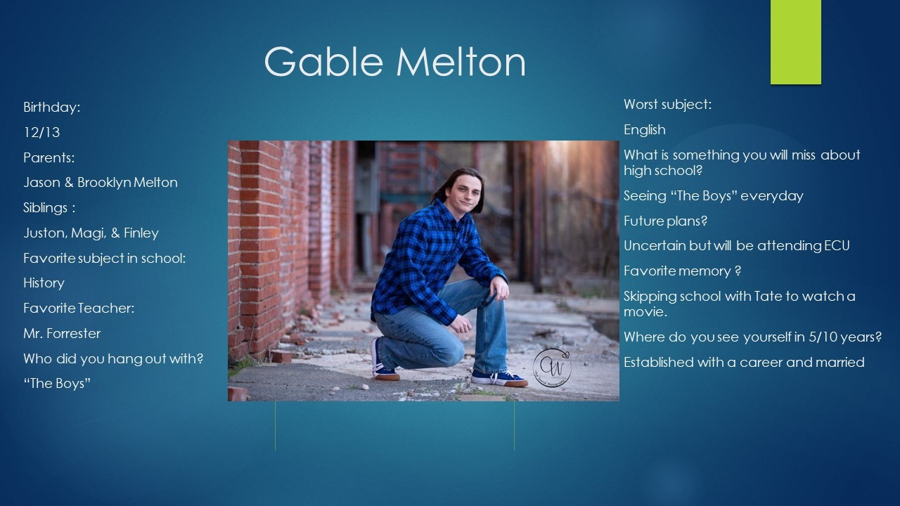 Gable Melton